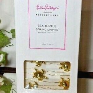 NWT Lilly Pulitzer Turtle  fairy Lights vsco girl